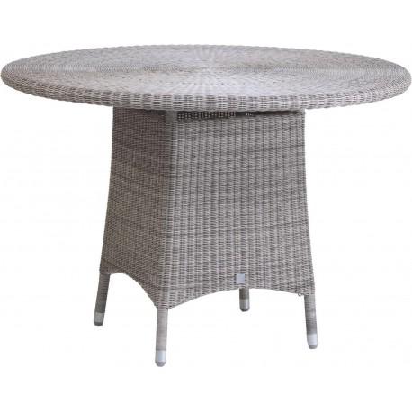 Table Cigale en résine coloris Galet option verre