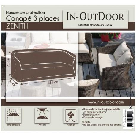 Housse de protection pour canapé 3 places Zenith en résine