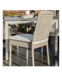 Chaise de jardin Antibes en résine - coloris récif