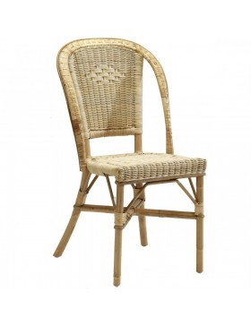 Chaise en rotin Albertine naturelle