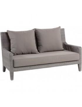 Canapé de jardin résine Allan galet