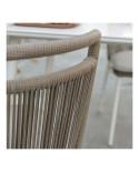 Chaise de jardin corde tressée Vegas