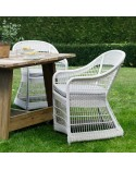 Fauteuil de table de jardin Biarritz