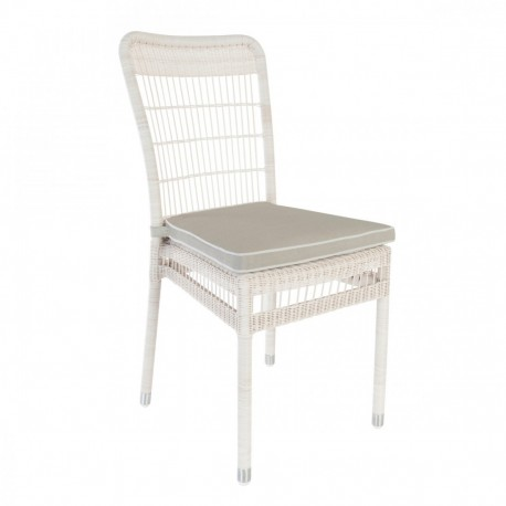 Chaise de jardin en résine Biarritz