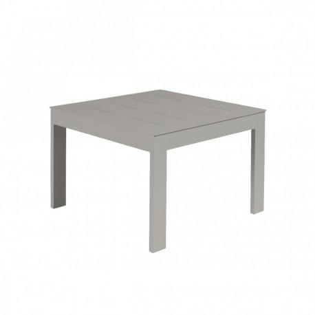 Table basse Sienna 60x60 alu gris béton