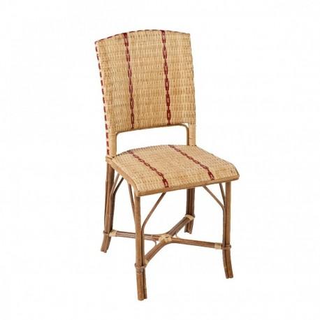 Chaise en rotin Bagatelle