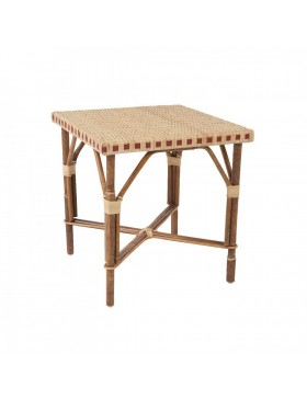 Table basse en rotin Bagatelle