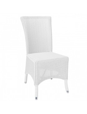 Chaise Lloyd Loom Mary - Personnalisable - 14 coloris au choix