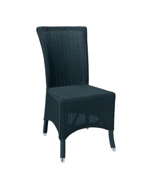 Chaise Lloyd Loom Mary Bleu paon - IOD Design