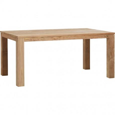 Table teck recyclé brossé 170x100